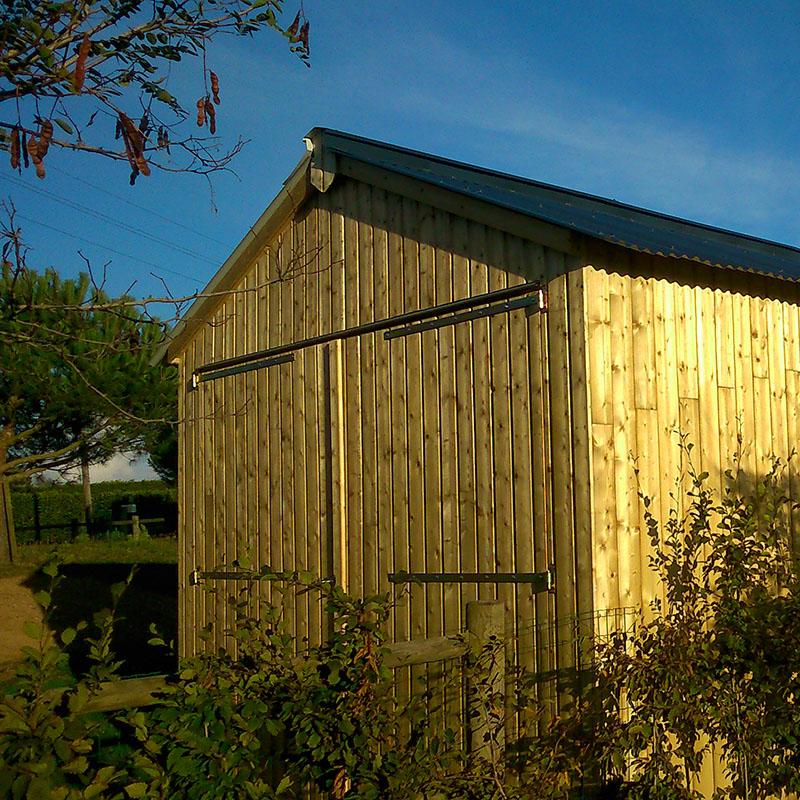 Garage - Charpente et Ossature Bois